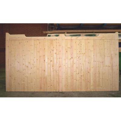 "Bespoke Softwood Gunstock Gates of size up to 84""(high)..."