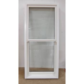 Sliding Sash Style Non-opening 760x1667mm Wooden Timber Window Glazed HW047