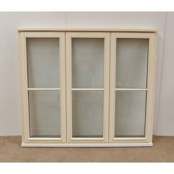 Double Glazed Centre Bar Wooden Timber Window 1695x1495mm HW119