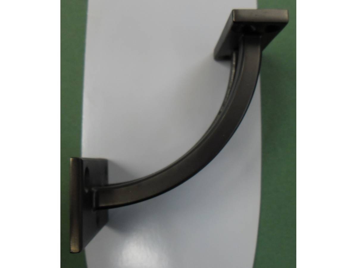Gun Metal Contemporary Stair Handrail Bracket Bannister ...