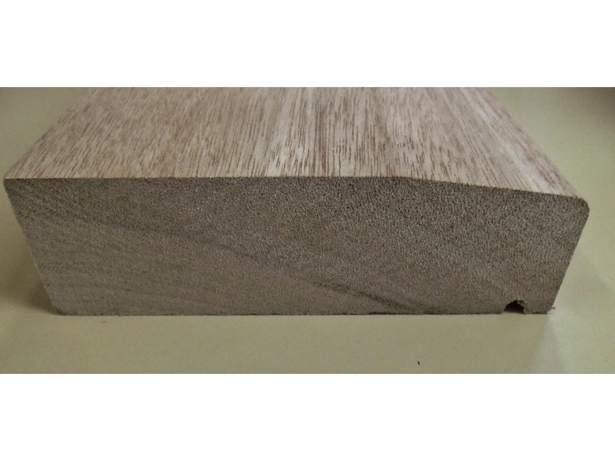 Hardwood Sill For Single Door Frame External Wooden Timber Patio Cill  Threshold