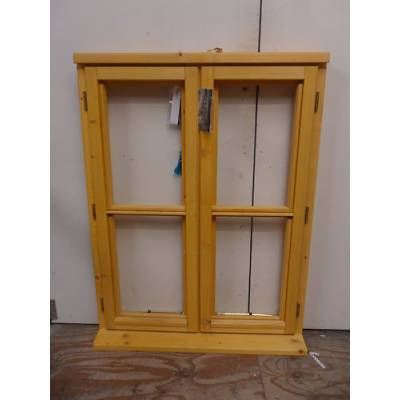 Wooden Timber Window Horizontal Centre Bar Casement Unglazed Jeld-wen 910x1195mm