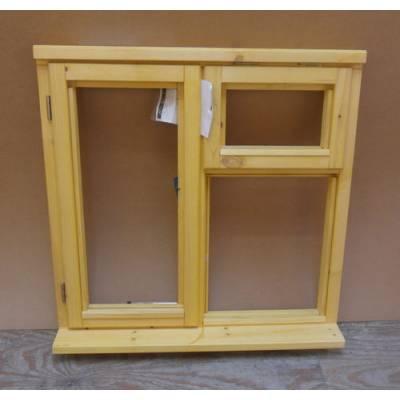 910x895mm Plain Casement Timber Window - W2N09CV - Handing (externally viewed):