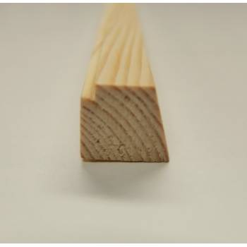 18x15mm Wooden Softwood Pine Beading Timber Window Jeld-Wen Replacement