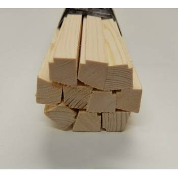 18x15mm Wooden Pine Beading Timber Window Jeld-Wen Replacement Bundle Pack of 10