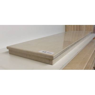Cream Beige Marble Blend Hearths Hearth for Fire Surrounds 1370x380x60mm MAR047