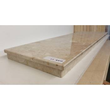 Two Marble Blend Hearths Hearth for Fire Surrounds 1015x380x60mm MAR059