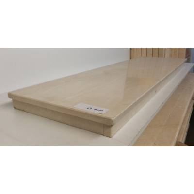 Cream Beige Marble Hearths Hearth for Fire Surrounds 1370x380x60mm MAR063