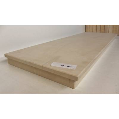 Cream Beige Marble Hearths Hearth for Fire Surrounds 1220x380x60mm MAR064A