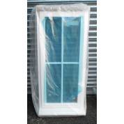 Double Glazed Cottage Style Wooden Timber Window 625x1345mm NAT123