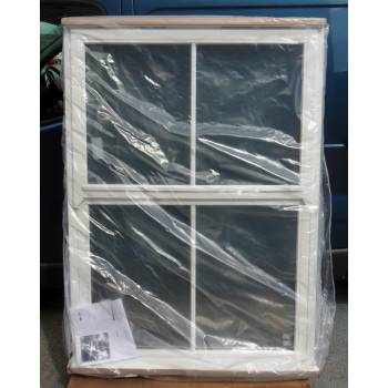 Wooden Timber Window Mock Sash Double Glazed Regency 1195x1645mm NAT142
