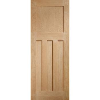 Oak DX Internal Fire Door Wooden Timber Interior
