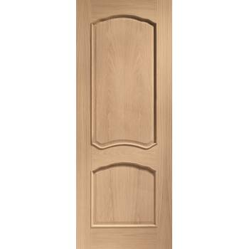 Oak Louis Raised Moulds Internal Fire Door Wooden Timber Interior