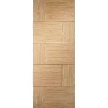 Oak Ravenna Internal Fire Door Wooden Timber Interior