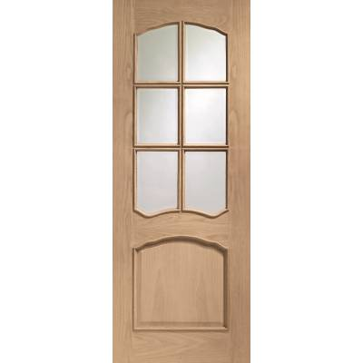 Oak Riviera Raised Moulds Internal Door Wooden Timber Interi...