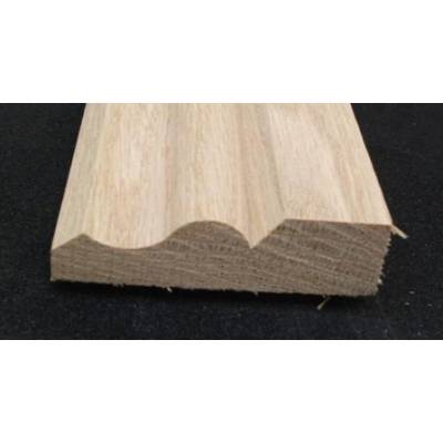 "69x20mm 3"" Ogee Architrave Timber American White Oak Ha..."