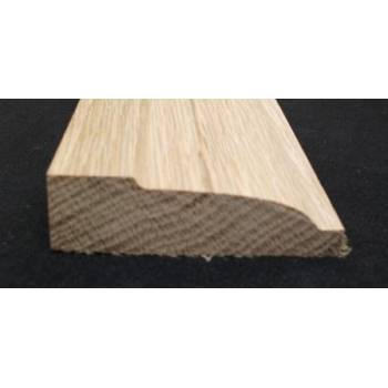 "69x20mm 3"" Ovalo Architrave Timber American White Oak Hardwood Wooden"