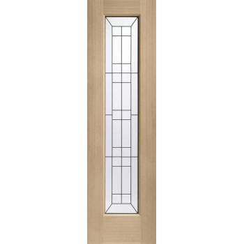 Oak Side Light External Wooden Timber Triple Glazed