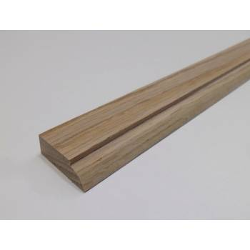 Bowed Seconds 2.4m 34x12mm Door Stop Oak