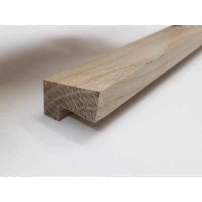 Oak Fire Check Glazing Bead Hockey Stick Mould Trim Moulding...