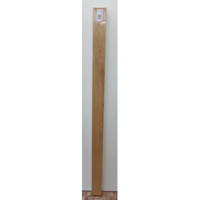 Oak Square Half Pattress Newel Post Stair Wooden Timber WOSQ...