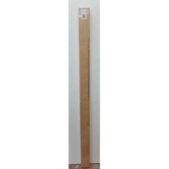 Oak Stop Chamfer Half Newel Post