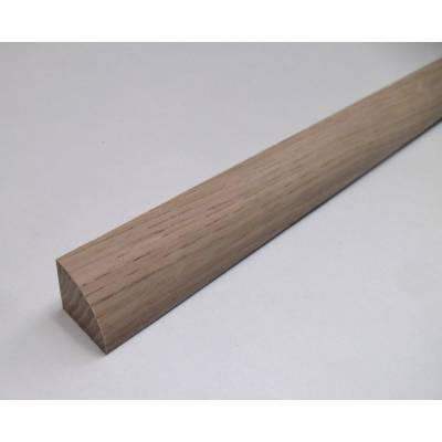 Oak 21mm Quadrant Quad Mould Decorative Trim Moulding 2.4m B...