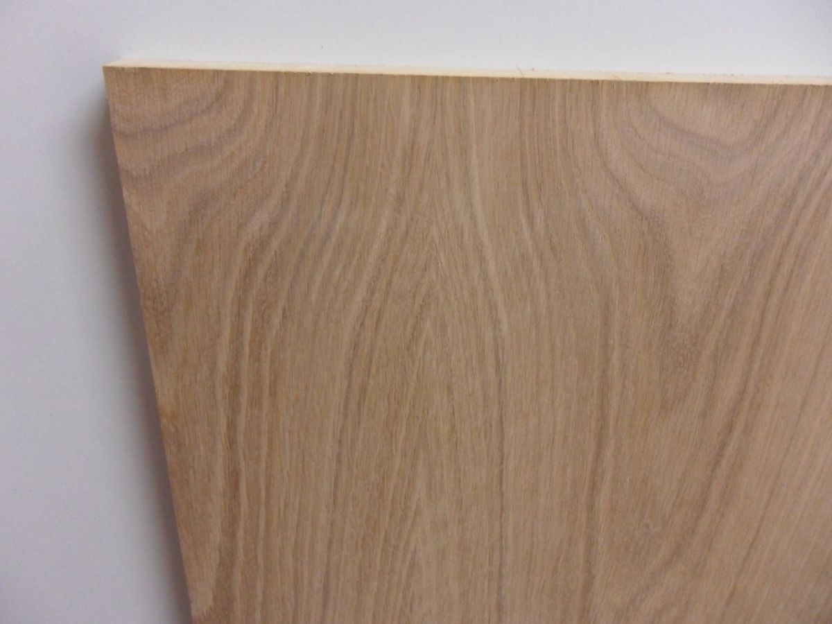 american oak veneered mdf 6mm or 18mm various sheets sizes