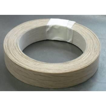 American Oak Veneer Iron on Edging 21mm for Veneered MDF various lengths