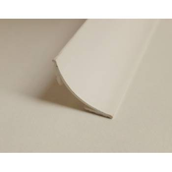 PVC Plastic Scotia 18mm x 18mm 2400mm 2.4m White Trim Moulding Corner Bead