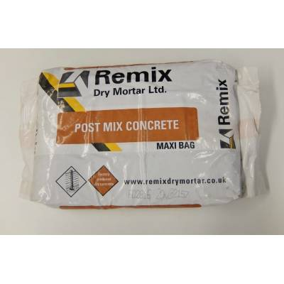Postmix 20kg Bag Post Mix Concrete Fence Fencing Postcrete F...