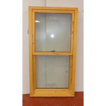 Softwood Window Sliding Sash Glazed 855x1645 SS032