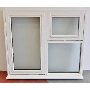 Wooden Timber Window Flush Casement  1200x1050mm (1195x1045) SWCV210A