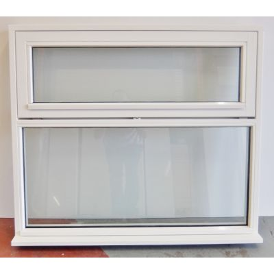 White Finished Flush Casement Wooden Timber Window 1200x1050...