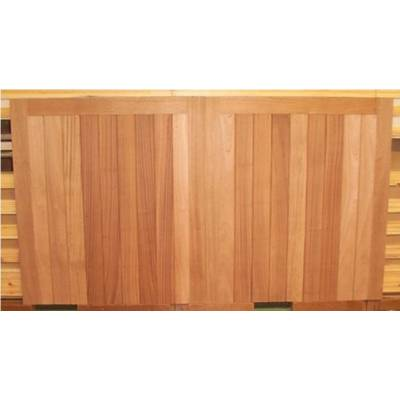 "Bespoke Sapele Square Gates of size up to 84""(high) to ..."