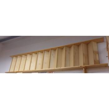 Kit Straight Bespoke Staircase Stairs Timber Wooden Made To Measure Unassembled