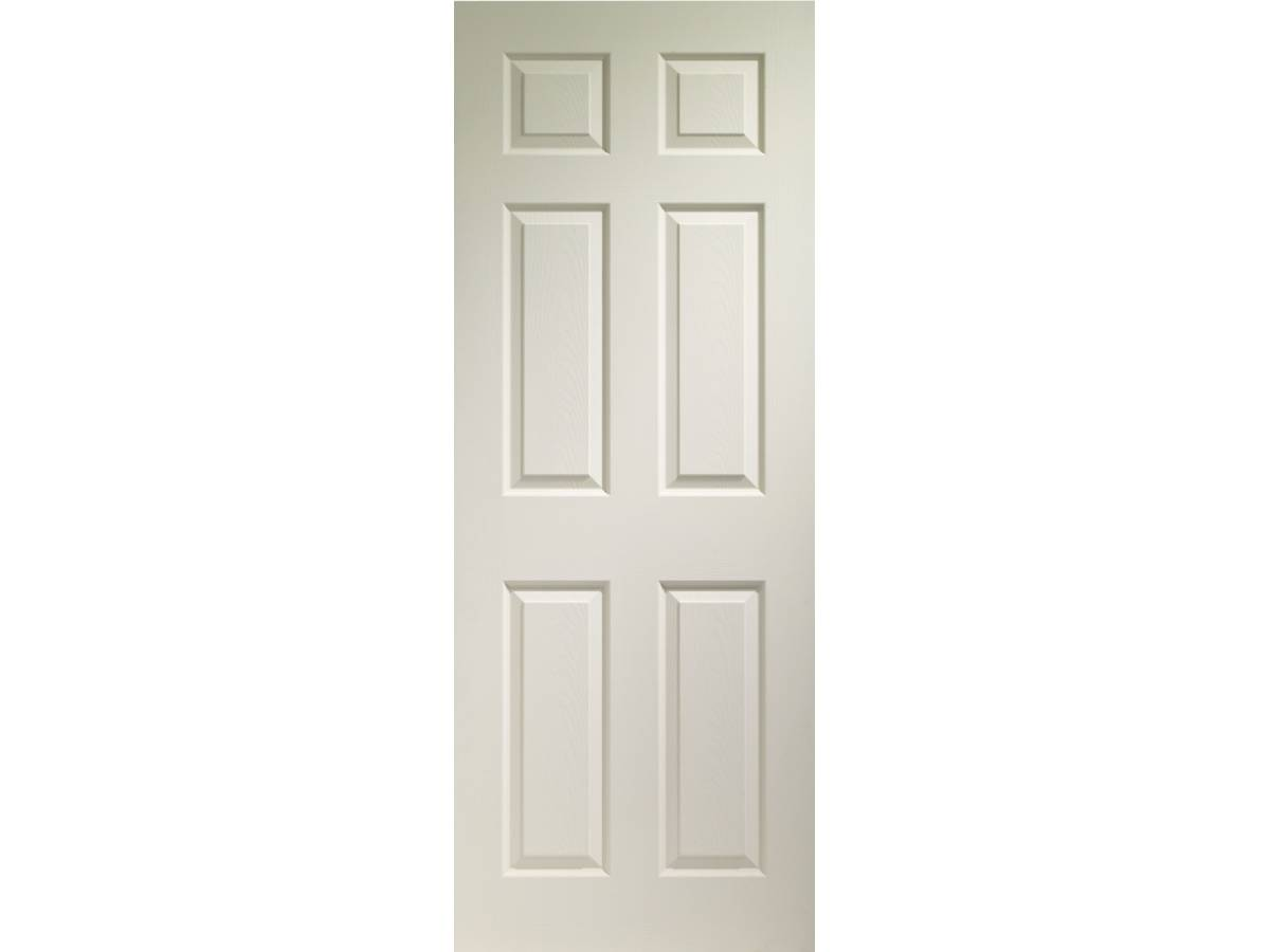 Primed colonist panel internal fire door interior p