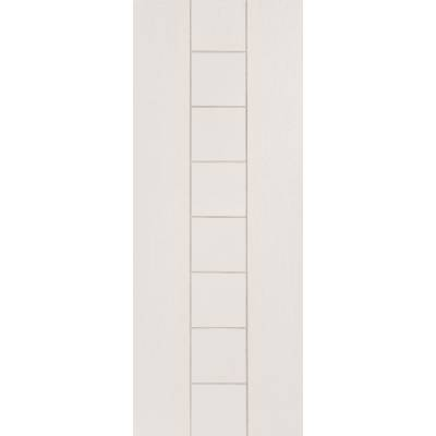White Primed Messina Panel Internal Door Interior - Size, Hx...