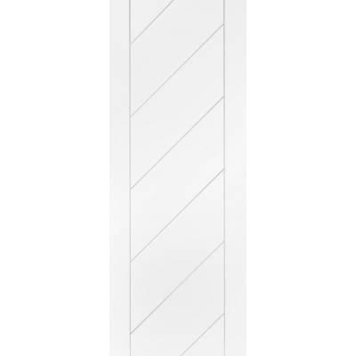 White Primed Monza Panel Internal Door Interior - Size, HxW:...