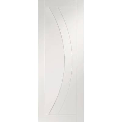 White Primed Salerno Fire Door Panel Internal Door Interior ...
