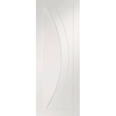 White Primed Salerno Panel Internal Door Interior - Size, Hx...