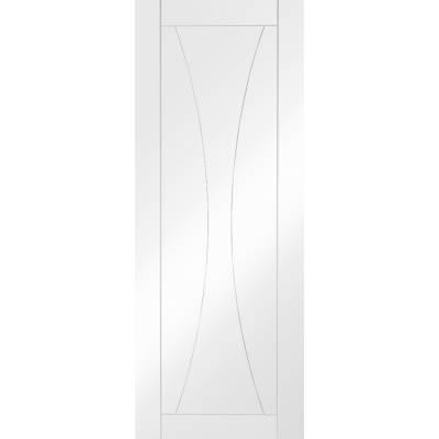 White Primed Verona Panel Internal Door Interior - Size, HxW...