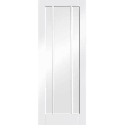 White Primed Worcester Panel Internal Door Interior - Size, ...