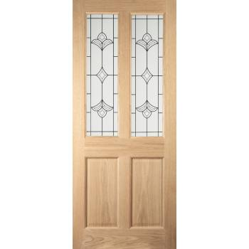 Oak Woodhouse External Door 78x36in