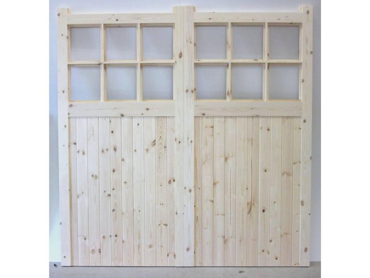 Made To Measure Apertured Garage Doors Pair