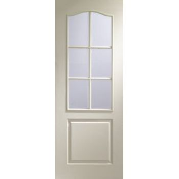 Classique 6 light glazed door