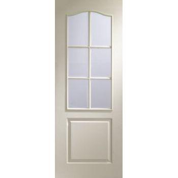 Classique 6 light glazed door