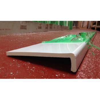 Plastic capping fascia