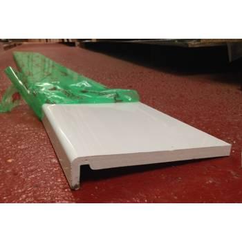 Plastic replacement fascia