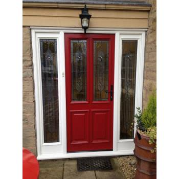 Accoya door and vestibule frame set